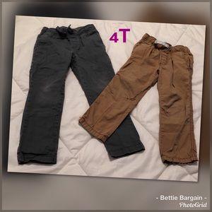 4T.   2pc Pants Lot